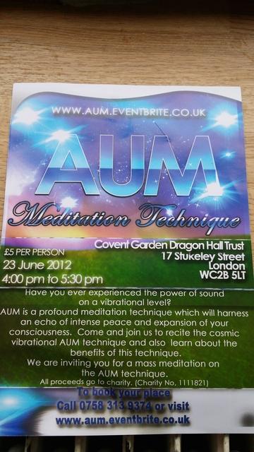 aum event